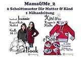 Mama&Me_2 Nähanleitung mit Schnittmuster auf CD für Kragen-Hoody...