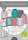 Papierschnittmuster Mix&Match Sweater/Hoodie Schnittmuster und...
