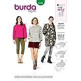 Burda Schnittmuster 6296, Sweater [Damen 36-46] zum selber nähen,...