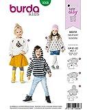 Burda Schnittmuster 9308, Sweater [Unisex (Kids) 92-122] zum selber...