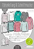 Schnittmuster kibadoo Damen Mix&Match schmale Sweater/Hoodie...