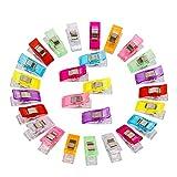 SidiOutil Nähen Clips, Premium Colorful 100 Klammer Nähen Zubehöre...